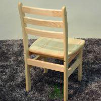 柏木居松木家具 田园 全实木餐桌书桌椅子特价 纯实木