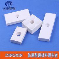 马赛克耐磨陶瓷贴片施工,耐磨陶瓷片在管道内壁的广泛应用