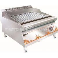 汇利TH-909台式火山石电烤炉 商用烧烤炉 烧烤机