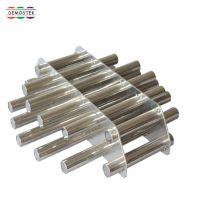 德斯克注塑机挤出机磁力架除铁器管道式磁性过滤器专用