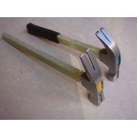 【厂家直销】带磁 方顶 圆顶 防滑 电木柄羊角锤带磁防滑羊角锤