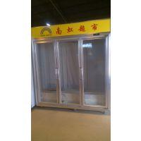 加盟便利店冷柜/三门边框冰箱/三门一体机展示柜冰箱/保鲜柜