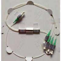 供应安徽1550nm1x4保偏光纤分束器(微型封装) 1550nm保偏PLC分路器