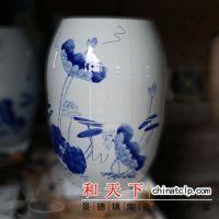 供应景德镇陶瓷养生翁 熏蒸缸 美容负离子养生瓮 活瓷能量