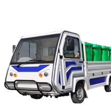 电动环卫车,垃圾运输电动车,全自动电动翻桶车,带液压尾板的电动货车
