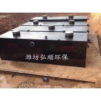 鹰潭小型医院污水设备碳钢材质,弘顺为创卫加油
