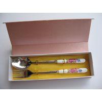 名瑞陶瓷餐具厂家 不锈钢勺筷 情人节礼物 银行地产宣传活动礼品 商务赠品