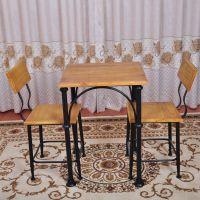 美式田园 铁艺餐桌 酒吧餐馆咖啡厅桌椅组合 餐桌椅 茶几电脑桌