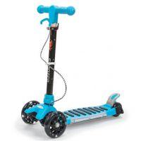 米高童车折叠升降儿童大四轮闪光脚踏儿童滑板车厂家批发