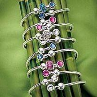 多色可选幸运手镯 国际标准925纯银 个性时尚欧美流行 外贸出口