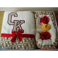 【厂家直销】龙年新款  CK蛋糕毛巾礼盒  全棉无捻环保低碳