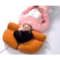 人人优枕颈椎枕头专用保健枕黍子护颈枕可拆洗圆形糖果健康枕芯
