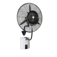 壁扇挂壁式电风扇工业喷雾静音家用加湿电风扇加水降温商用大功率