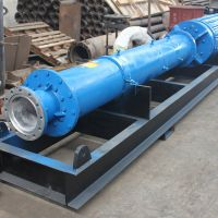 流量800方,单级扬程70米,双吸式自平衡矿用潜水泵