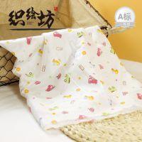 织绘坊无荧光双层卡通汽车印花母婴用40s纯棉纱布 半精梳平纹织绘坊纱布