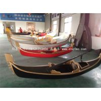 威尼斯贡多拉游船什么价位欧式木船意大利专业设计师设计制作图定做游船