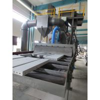 鼎泰高效铝模板清砂机,鼎泰铝模板抛丸机,铝模板打砂机加工