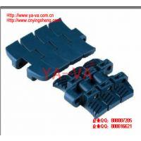 温度范围广、防粘性佳,提升角度大   重型转弯链板    YA-VA