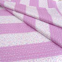 粉色小碎花纯棉布料厂家直销四件套布料价格合理质量保证碎花布料