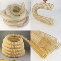 供应pu钢丝增强软管 透明防静电软管 塑料螺旋管 耐高温