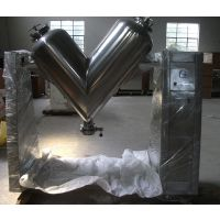 供应 V型混合机 不锈钢 饲料颗粒混料搅拌机