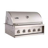 MIECNS A315抛光不锈钢嵌入式别墅户外烧烤台炉头
