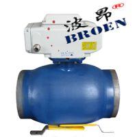 上海波昂电动缩径焊接球阀