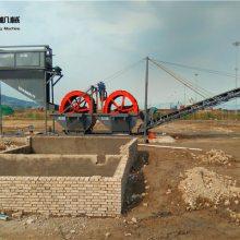 滨州水洗砂设备 科大轮斗式筛沙设备配置