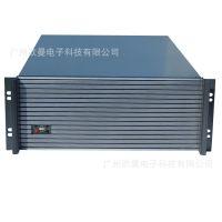 供应广州欧曼4U工控机箱 4U服务器机箱 高端铝面板15个硬盘
