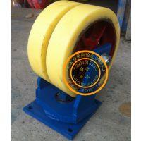 超重型8寸10寸12寸双轮万向轮/铁心尼龙轮/工业脚轮/3吨
