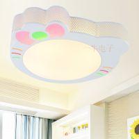 可爱卡通LED儿童房间吸顶灯调光灯具 现代时尚温馨卧室书房灯饰