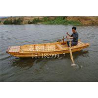 江苏苏州直销手划小木船 河道作业船 观光游船制作仿古木船农用渔船