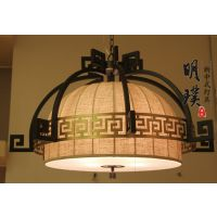 茶楼复古中式吊灯 新中式客厅吊灯 中山新中式吊灯厂家