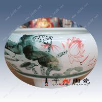 陶瓷鱼缸工厂 陶瓷大鱼缸批发