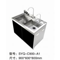 临沂尚优电器厂家直销不锈钢多功能集成水槽槽体50年超长质保套餐搭配RO反渗透纯水机
