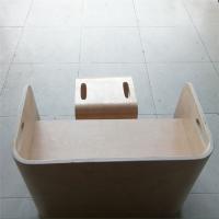 精心打造弯曲木儿童学习桌椅,沃尔美来图定制各种弧度弯板,曲木婴儿床加工