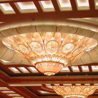 专业定制贵宾厅豪华欧式云石吊灯奢华水晶灯酒店大堂非标定制灯