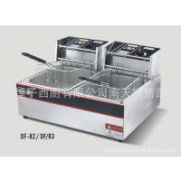 台式单缸双筛电炸炉/电炸锅/台式油炸炉 炸炉 DF-83。