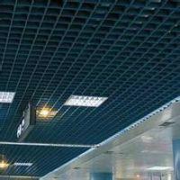 上海铝格栅吊顶 餐厅会所装修吊顶服务-金辉装饰