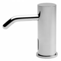 全铜水龙头式感应给皂器 自动皂液器泡沫给皂器 申浦感应皂液器龙头 消毒洗手液