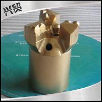 热销加强型PDCWJΦ94mm金刚石复合片三翼弧角有芯 取芯 地质钻头