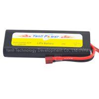 RC LiPo Car Battery Pack 2S2P 7.4V 4000mAh 25C