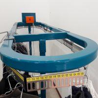 308点电动高品质衣物输送线 干洗店衣服输送挂衣设备 厂家直供