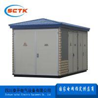 贵州贵阳户外10KV预装式变电站报价丨YBW-12系列欧式箱变泰开电气图片 内部结构