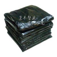 批发定做 厂家直销 优质平口垃圾袋 加厚 黑色大号平口垃圾袋