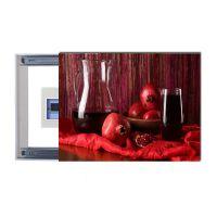 配电箱推拉式液压式任意停装饰画遮盖闭路盒电表箱无框挂画壁画