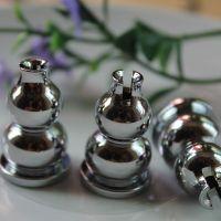 现货纯铜葫芦香夹香座葫芦点香器香炉陶瓷香托香架香座盘葫芦香插