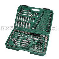 陕西西安世达工具代理_09510_汽修工具150件6.3×10×12.5MM公英制组合套装
