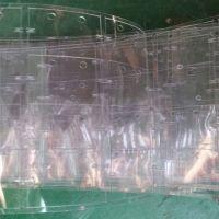 利鑫源供应环保PVC透明介子 绝缘垫圈 白色麦拉片