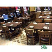 批发订做 咖啡厅成套餐桌椅 餐饮桌椅 甜品店奶茶店茶餐厅桌椅组合运达来家具供应